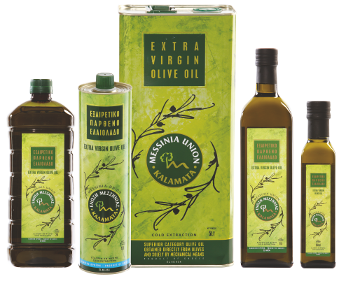 Messinia Union packaging